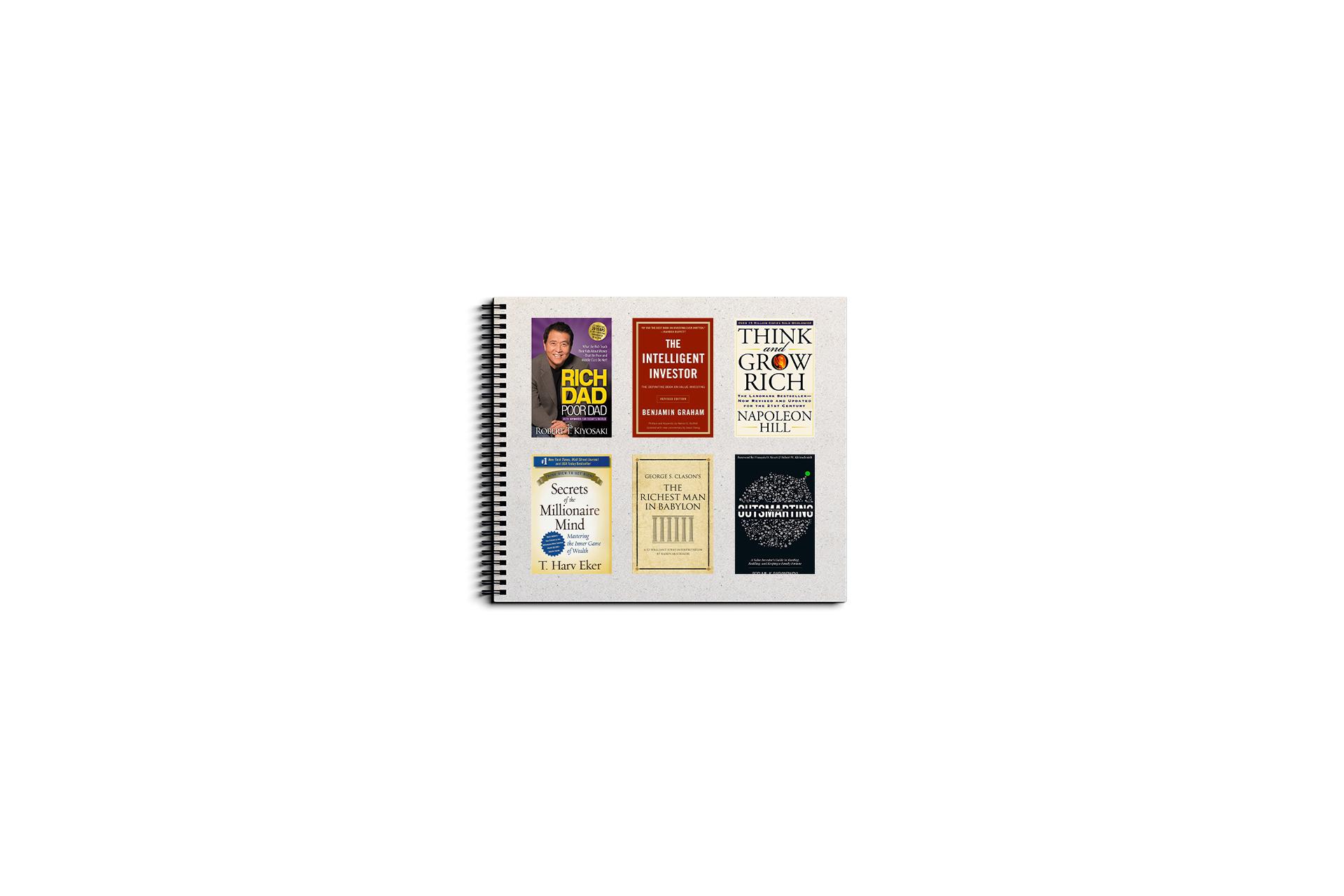 21 کتاب امور مالی شخصی در 20 دقیقه