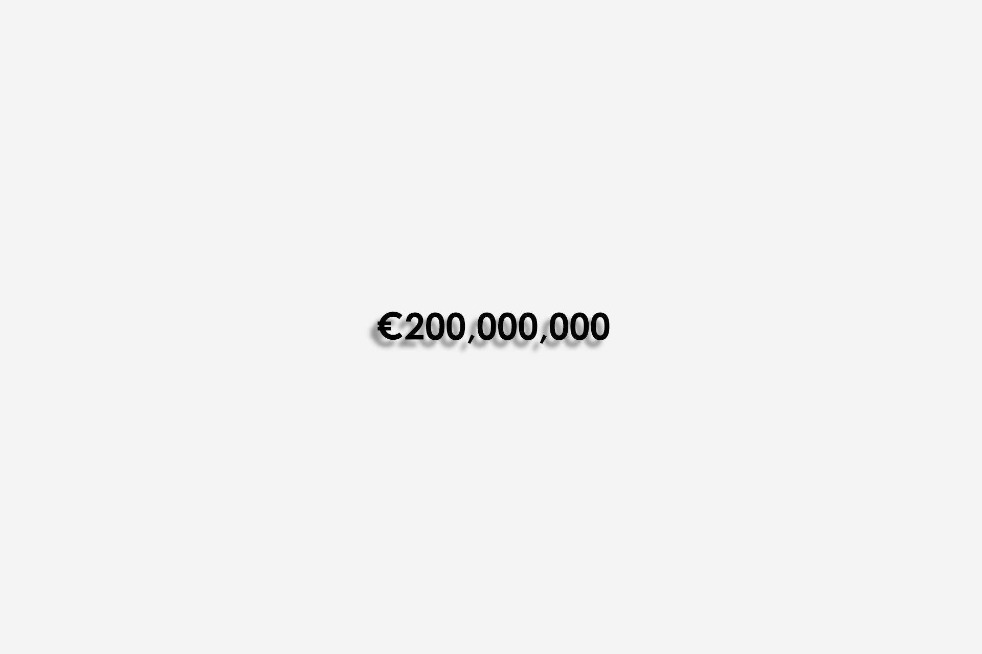 زلاتان ابراهیموویچ, 200 میلیون یورو