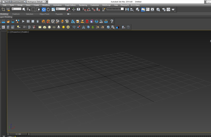 تخریب عناصر در 3ds Max 1