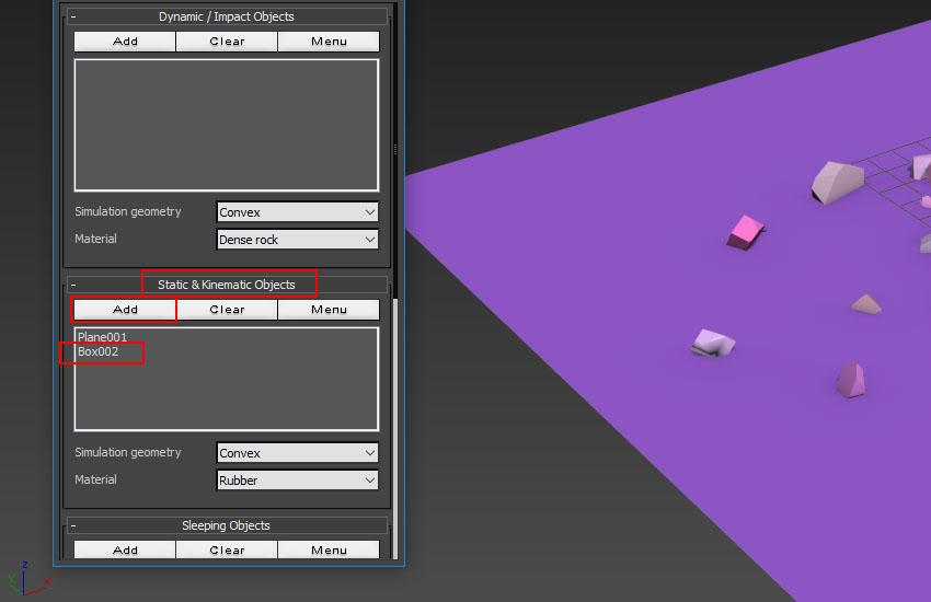 تخریب عناصر در 3ds Max 19