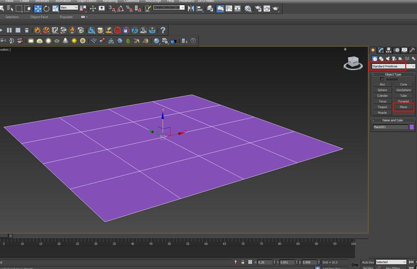 تخریب عناصر در 3ds Max 2