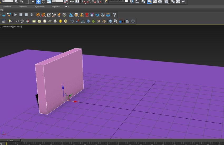 تخریب عناصر در 3ds Max 3