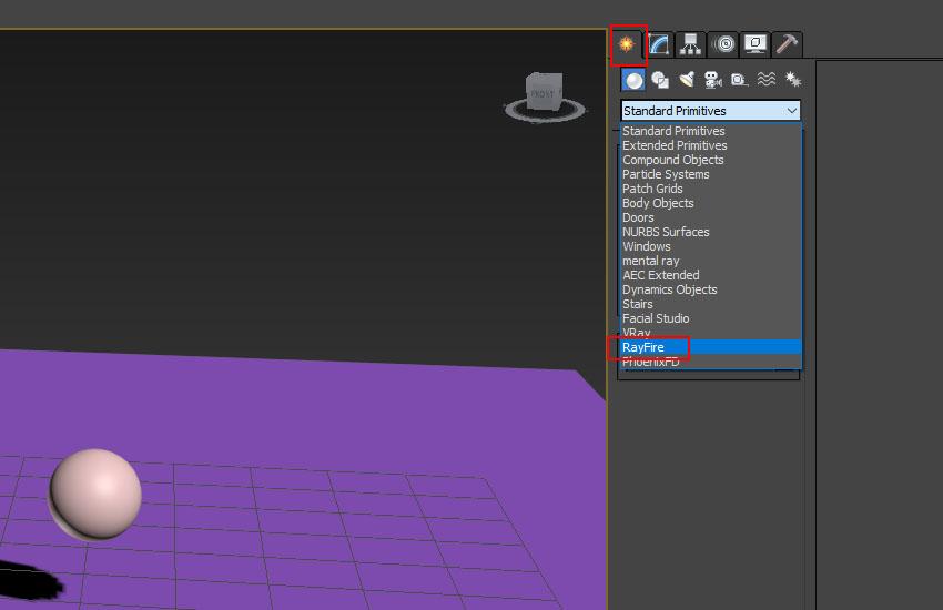 تخریب عناصر در 3ds Max 6