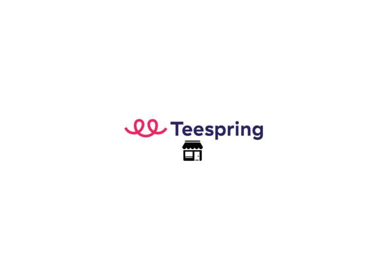 ویترین فروشگاه در Teespring