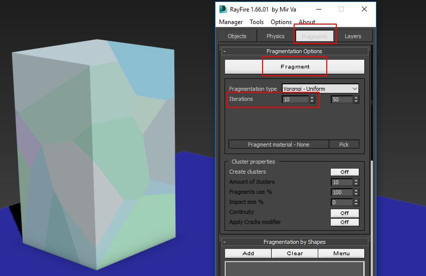 آموزش تخریب عناصر در 3ds Max